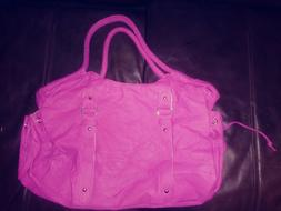 New purses and handbags different colors pink.purple.brown.b