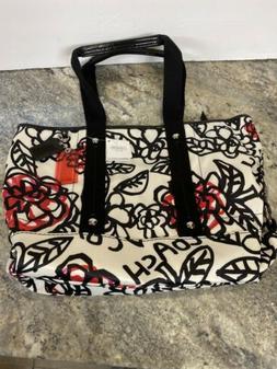 NEW Rare Coach PoPPy Daisy Rose Floral Graffiti Tote Purse H
