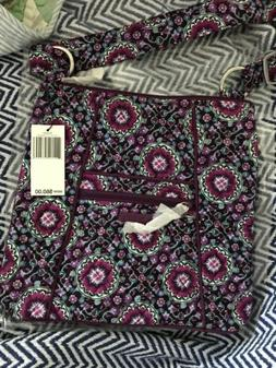 New W/tags Vera Bradley Hipster Crossbody Bag Purse in Lilac