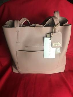 NEW WITH TAGS!  Antik Kraft - Large Mauve Vegan Leather Tote