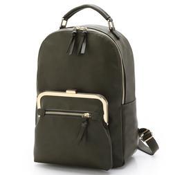 Dasein Women Handbag Faux Leather Backpack Rucksack Purse Sc