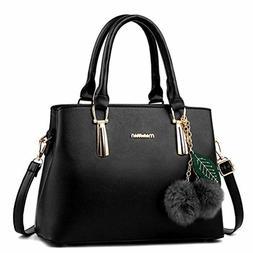 New Women's Leather Handbag Shoulder Bag Crossbody purse for