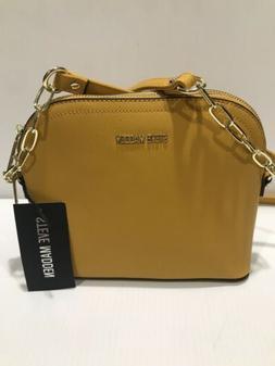 New STEVE MADDEN Women's BMAGGIE CROSSBODY BLK Handbag Pur