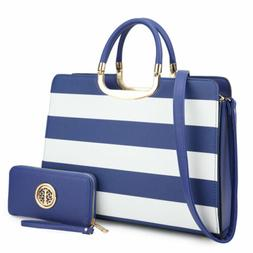 Dasein Handbags for Women Satchels Bags Shoulder Purse w/ Wa
