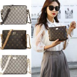 New Women's Small Chain Shoulder Bag Crossbody Bag PU Leat