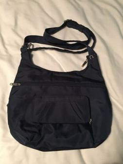 NWOT Travelon Navy Blue Crossbody Purse And Wallet