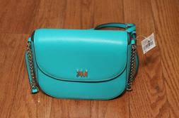NWT Michael Kors $148 Half Dome Messenger Crossbody Handbag