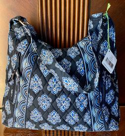 NWT Vera Bradley Calypso LISA B Hobo Purse Shoulder Bag Navy
