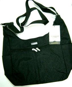 NWT Baggallini Cargo Hobo Tote Bag, Black Zebra Print