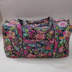 NWT Vera Bradley Iconic Large Travel Duffel Disney Mickey an