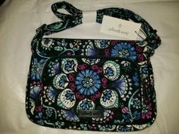 NWT Vera Bradley Iconic RFID Little Hipster Crossbody Purse