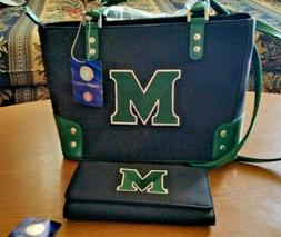 NWT Marshall Thundering Herd Sandol Handbag And Matching Che