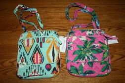 Vera Bradley MINI HIPSTER cross body little purse bag should