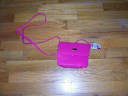 NWT Mini Purse-hot pink-VERY cute -Mundi-can fit on belt