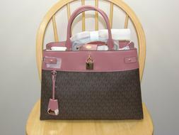 NWT New Michael Kors Handbag Gramercy Purse Large Satchel Ba