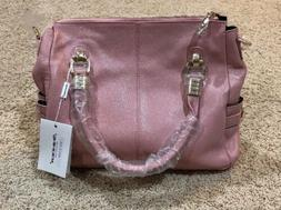nwt pale pink 100 percent genuine leather