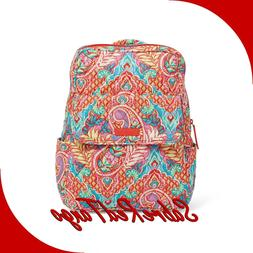 NWT VERA BRADLEY QUILTED SMALL PETITE BACKPACK BAG PURSE PAI