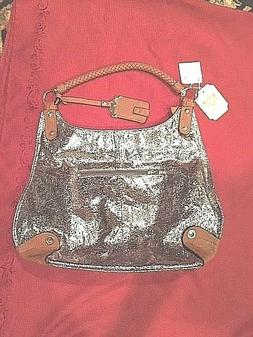 Handbag Republic NWT Shoulder Purse with Sparkly Sides , Lot