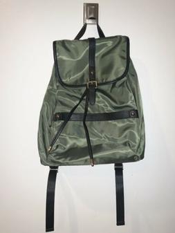 NWT Bostanten Womens Light Weight Backpack Purse Olive Green