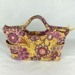 Vera Bradley NWT Yellow and Pink Floral Purse/Handbag