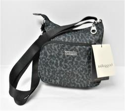 Baggallini Nylon Print Small Crossbody Bag Purse Adjustable