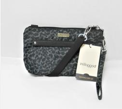 Baggallini Nylon Print Small Crossbody Bag Purse Wristlet De