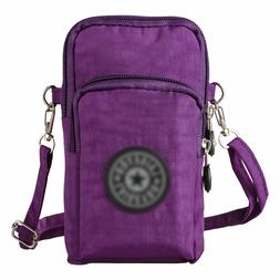 Nylon Small Crossbody Bags  Purse Smartphone Wallet For Wome