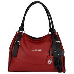 Oklahoma Sooners Licensed The Jet Set Handbag, Wanda Wallet