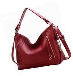 On Clearance! Big Sale! Iswee Women's Genuine Leather Handba