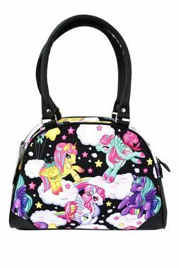 Liquorbrand Pegasus Unicorn Pony Rainbows Scene Vegan Bowlin