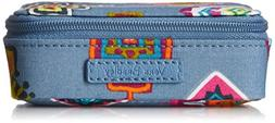 Vera Bradley Travel Pill Case, Painted Medallions