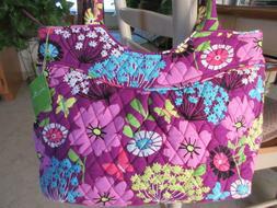 Vera Bradley Pleated Shoulder Bag in Flutterby NWT