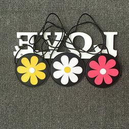 PU Leather Flower Pattern Coin Purse Baby Girls Daisy Money