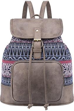 Lily Queen Fashion Small Purse Backpack Lightweight for Wome