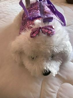 PURSE FOR LITTLE GIRL VERY CUTE DOG HAND AND STRAP