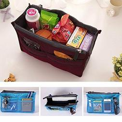 Purse Organizer Insert Women Travel Insert Handbag Liner Tid