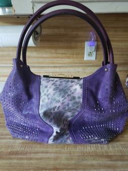 Purses Handbags. Beautiful purple purse with sparkle and ani