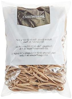 AmazonBasics Rubber Bands, Size 64 , 320 Bands/1 lb. Pack ,