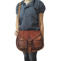 Saddle Bags For Women Genuine Leather Side Purse Crossbody S