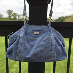 Baggallini Satchel Handbag Purse Slate