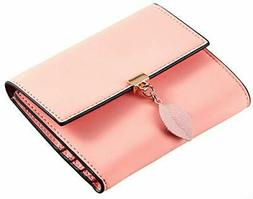 small compact wallet for women trifold credit