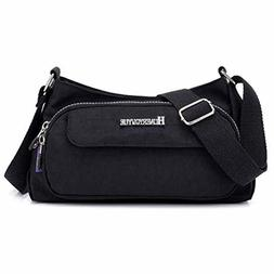STUOYE Small Crossbody Bags for Women Multi Pocket Purse Bag