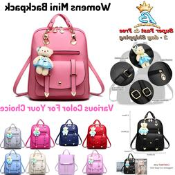 Small Cute Backpack Purse For Women Girls Mini Travel Daypac