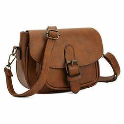 Small Purse Vintage Satchel for Women Hasp Crossbody Bag Sad