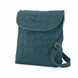 Thirty One Vary You Backpack Purse Quilted Dots Jade