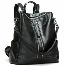 Modoker Travel Backpack Purse for Women Convertible Leather