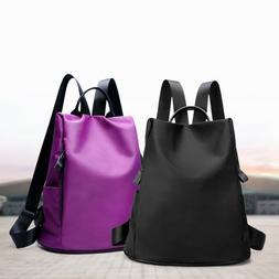Travel Waterproof Backpack Handbag Camping Rucksack School B
