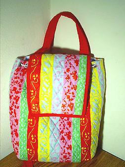 ~ MALABAR BAY ~ TRENDY QUILTED BACKPACK PURSE ~ BRAND NEW WI