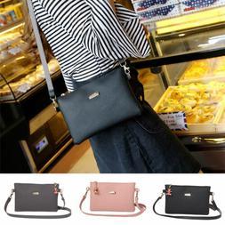 us women leather small handbag satchel messenger