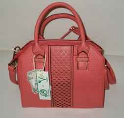 Alyssa Vegan Pink Purse Bag NWT